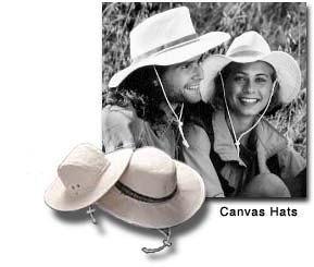Couple wearing Osprey Canvas Hat